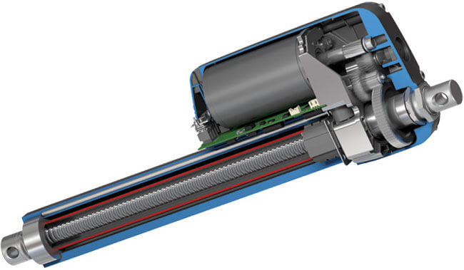 Thomson电动推杆内部结构