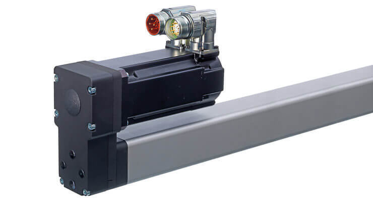 Thomson电动缸PC系列配有工厂集成的伺服电机