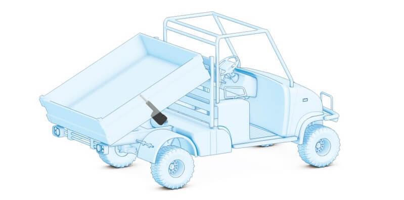 Thomson电动推杆为重型非公路用汽车发动机罩提供了良好的提升
