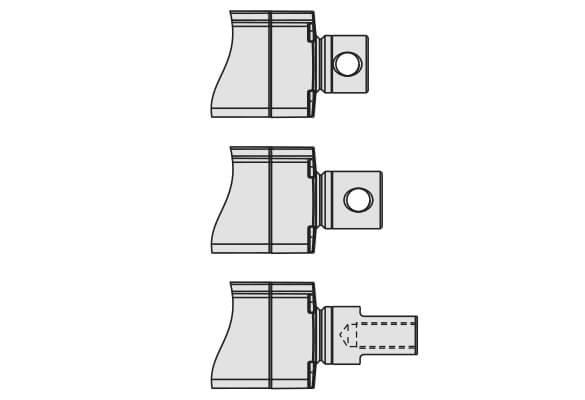 Thomson电动推杆端部固定有哪些选择?