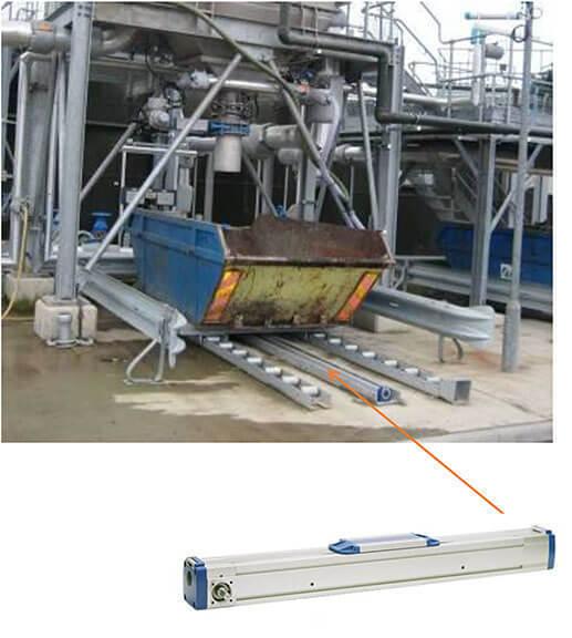 M直线单元在污水处理设备上的应用