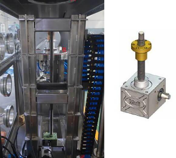 螺旋升降机在电炉密封上的应用