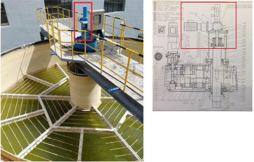 螺旋升降机在搅拌提升设备上的应用